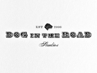 Dog in the Road Logo