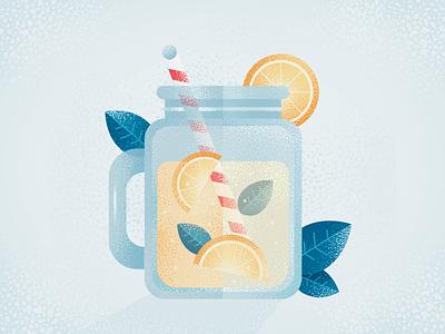 Lemonade illustrator photoshop vector fruit citrus food lemons lemon summer drink lemonade