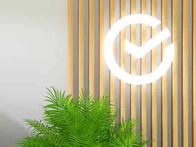 Sber Bank HR. Details digital logo interior coronarender motion illustration c4d 3d
