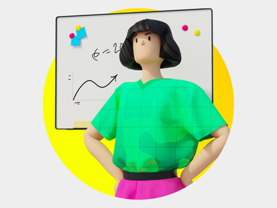 Sber Bank. Growth hr bank sberbank growth character design character animation motion illustration c4d 3d