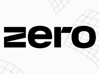 zero zero identity graphic design logo