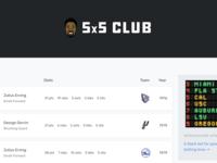 The 5x5 Club