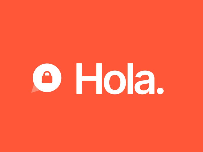 Hola figma minimal logo