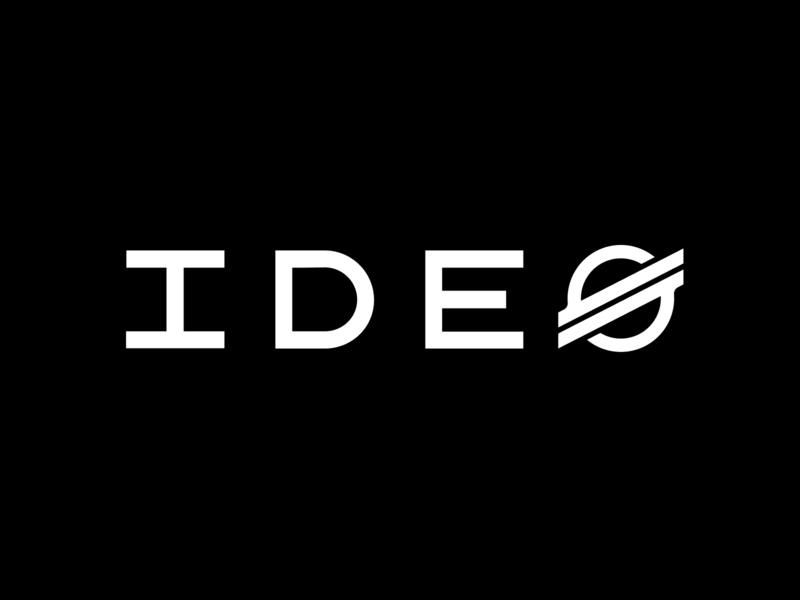IDEO + Stellar branding flat minimal