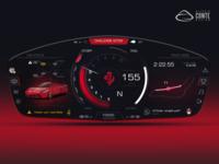 Ferrari HMI concept - Personal Project