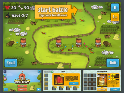 Fort Game GUI and Logo