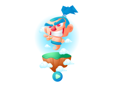Genie_Marata game design icon ux ui design characters illustration characterconcept character design gamecharacter 2dcharacter characterdesign