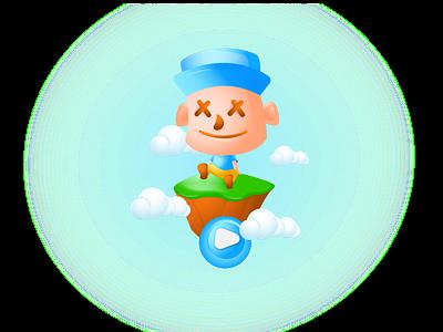 walskk illustration avatar design logo game design 2danimation 2d character vector mascot character characterdesign