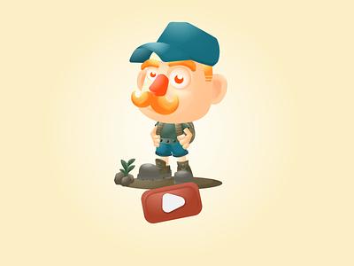 Mr. Poruko's Adventure ux avatar animation vector mascot character game design mobile game design mobile app design game assets 2d character gamecharacter characters characterdesign