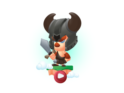 Vikings_on PLay 2d character sprite character game designer 2d design ui design animation vector characters mascot character game asset 2dcharacter characterdesign