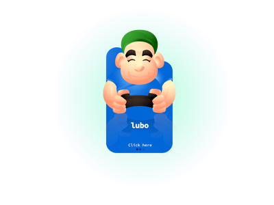 Lubo icon 2d character avatar illustration design ux ui characters mascot character characterdesign