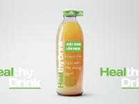 Healthy Drink - Mật Ong Lên Men (Packaging design)