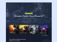 PC Games Landing Page