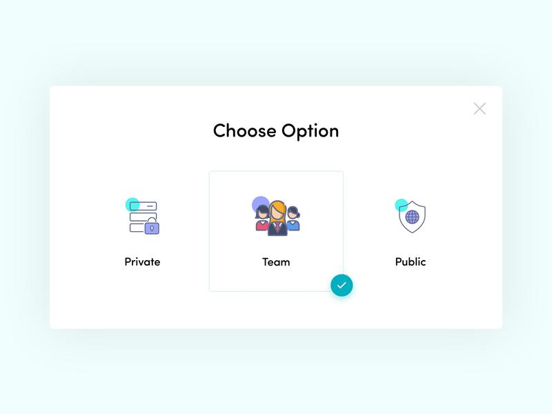 Choose Option Design adobe xd web illustration branding icons design userworld redesign popup login lock icons globe business design ux ui