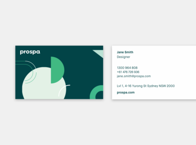 Business Card Explorations