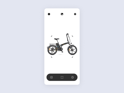 Electric Bike / Mobile App Concept web design web ux uiux ui typogaphy store product page mobile minimal ios interface ecommerce ebike design clean cards bicycle app design app