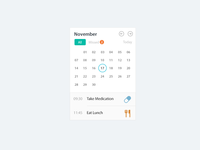 Daily Calendar Tracker