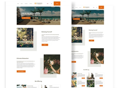 Corporate Website Landing Page homepage design web design ux design inspiration simple design corporate website portfolio business ui dribbble best shot concept minimal dribbble creative landingpage clean adobe ui design designer