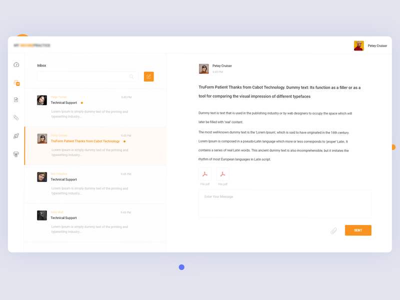 Mail Client uiux ui light space adobe adobexd xd clean minimal dribbble simple design creative email design mailer mailbox email mail mail design ui design designer