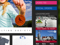Golfing Society - Open to Open Contest Ad
