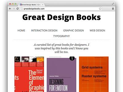Great Design Books design books design books web design graphic design