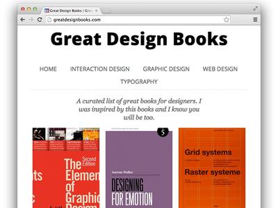 Great Design Books