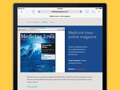 Online wordpress magazine wordpress html magazine