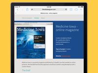 Online wordpress magazine
