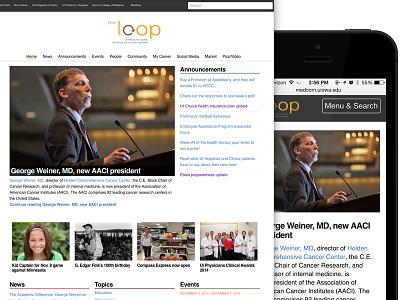 The Loop news website news wordpress
