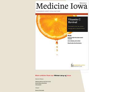 Medicine Iowa winter 2014-15 issue wordpress online magazine online publication