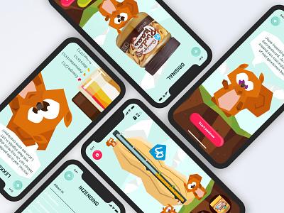 Contest App Design branding illustration ux ui