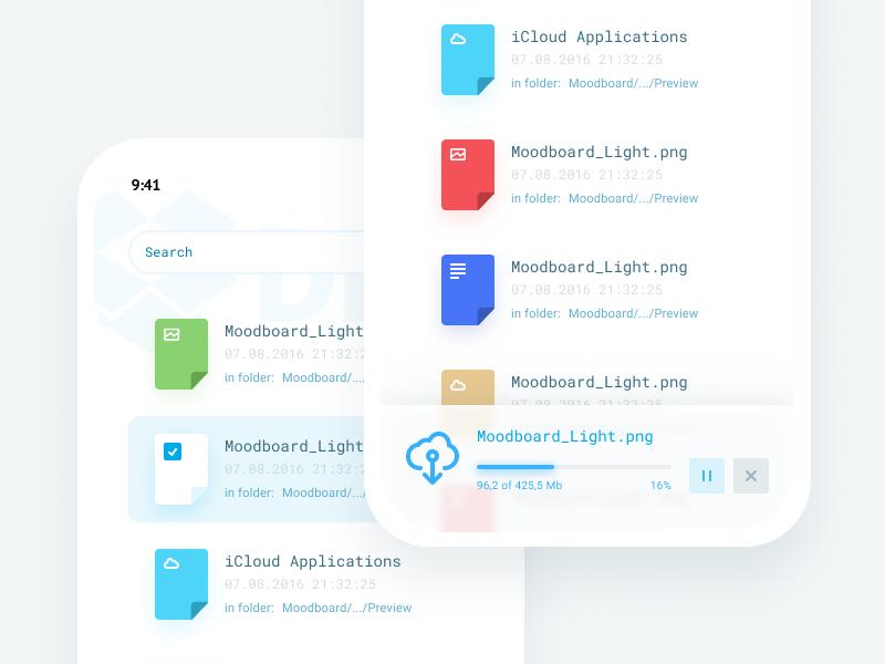 Cloud App clean cloud free download interface ua ui app ukraine user upload ux