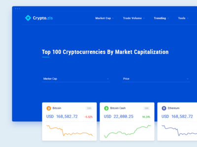 Cryptocurrency trading exchange ux ui ico flat blockchain fintech design bitcoin market cryptocurrency