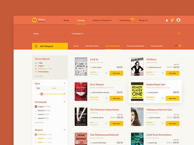 Polka website web typography type