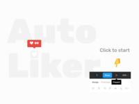 dribbble Auto Liker auto layouts auto layouts figma design vector ukraine