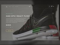 Nike Shop UI