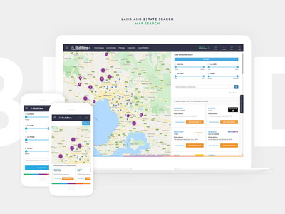 iBuildNew Land & Estate map search