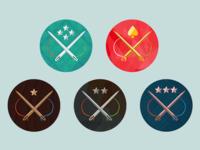 Needle Badges