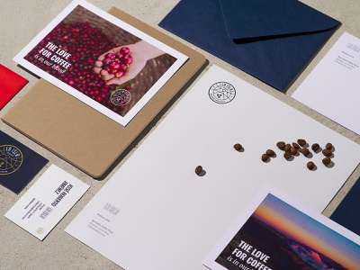 La Isla brand identity coffee branding coffee letterhead badges design costa rica icon identity logo logotype branding la isla