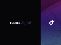 Branding Fundes Digital online digital e-learning latin america brand design iconography design icon mark logo costa rica logotype identity branding