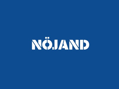 Logotype for Nöjand logotype design icon mark costa rica logo logotype identity branding