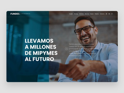 Website Concept hero image branding agency web design agency web uiux web design costa rica identity branding