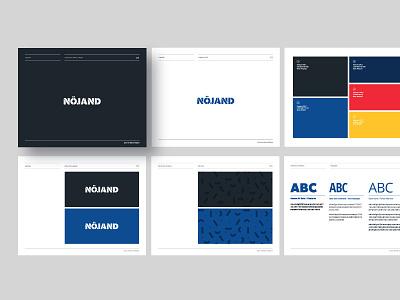 Brand Guidelines for Nöjand brand guidelines logo design pandemic hygiene minimalist illustration identity costa rica icon mark logo logotype brand design branding