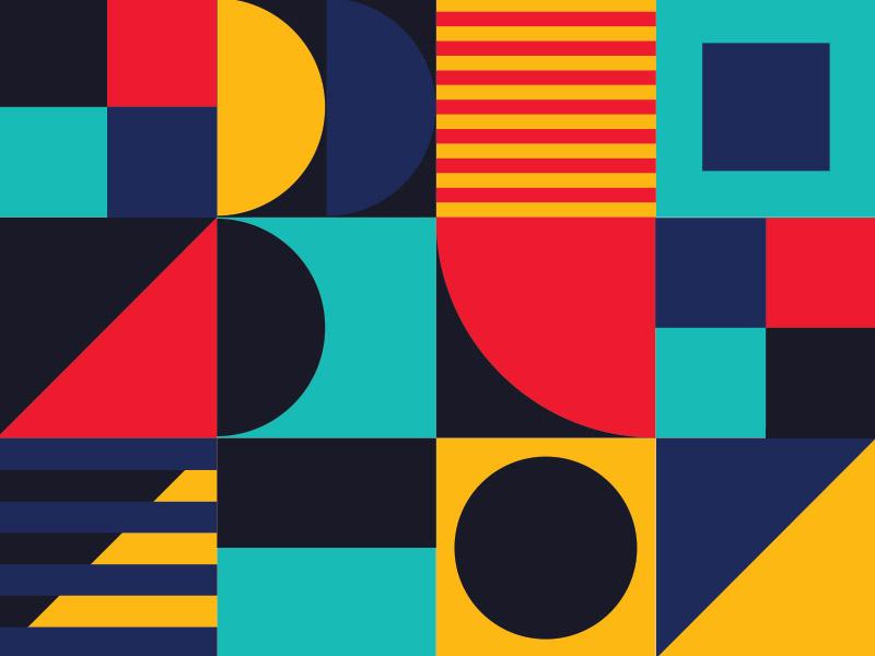 Geometric Patterns squares branding pattern geometric
