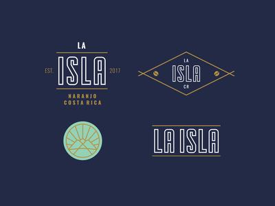 Badges for La Isla
