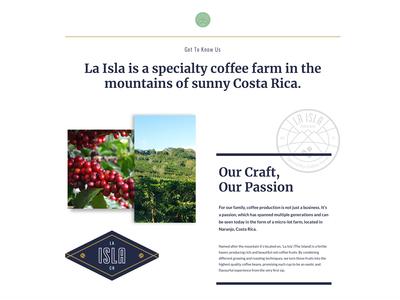Website La Isla