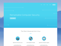 Computer Security Page Concept