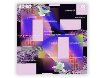 SC-SQ v1 (ScriptureSquare quote bible illustrator photoshop grid gradient colour layout weeklydesignchallenge