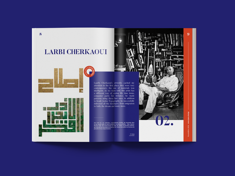 Marrakech School Trip editorial design editorial
