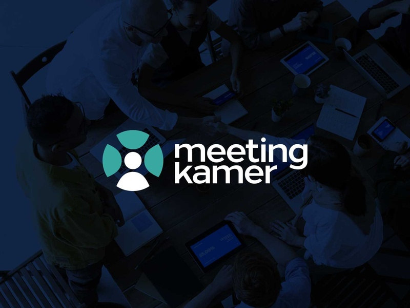Meetingkamer - Brand Identity - Logo logo design visual design logo deesign kamer meeting room meeting identity brand logo